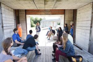 """Reportage über eine Exkursion des Schreibprojekts """"Autorenpartnerschaft Green Capital"""" in der Zeche Carl in Essen"""