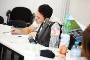 """Reportage über das Schreibprojekt """"Autorenpartnerschaft Green Capital"""" in der Zeche Carl in Essen"""