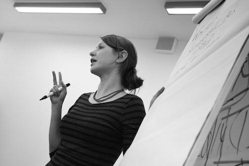 """Reportage über das Schreibprojekt - die Schreibwerkstatt - """"Green Capital"""" (Arbeitstitel) mit Sarah Meyer-Dietrich, Sascha Pranschke in der Zeche Carl in Essen"""