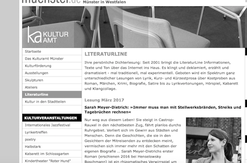 Literaturlinie