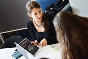 """Reportage über das Schreibprojekt """"DIE BLAUE STADT"""" in der Zeche Carl in Essen"""